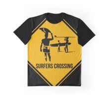 Surfers crossing Graphic T-Shirt