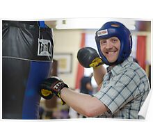 Photo shoot with boxing props Poster