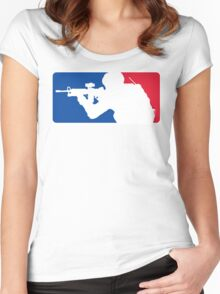 Major League Infantry Women's Fitted Scoop T-Shirt