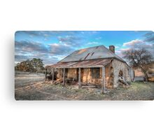 Country Side Ruin Canvas Print