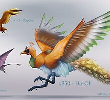 Ho-Oh by Satsume