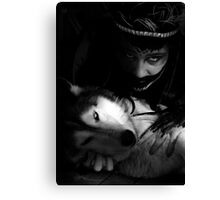 partners in darkness Canvas Print