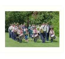 Community Band Art Print