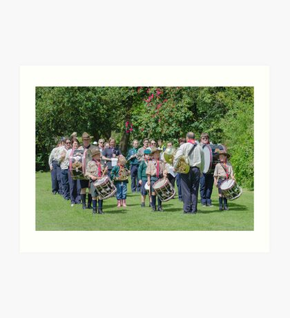 Community Band Art Print