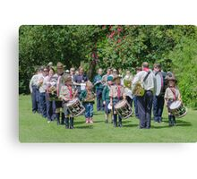 Community Band Canvas Print
