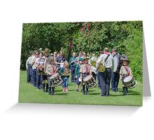 Community Band Greeting Card