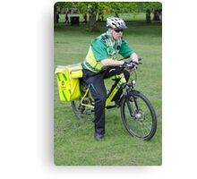 Mobile Paramedic Canvas Print