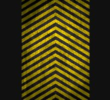 Chevrons - Yellow and Black Unisex T-Shirt