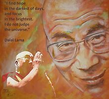 Dalai Lama - Hope by ARTito