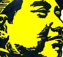 Communist Chinese Chairman Mao Tze Dong Portrait Sticker