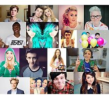 youtuber collage by lovehate15