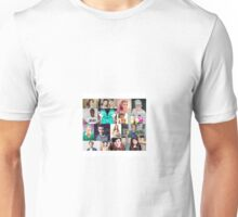 youtuber collage Unisex T-Shirt