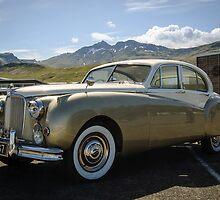 1955 Jaguar Mark VII by Ólafur Már Sigurðsson