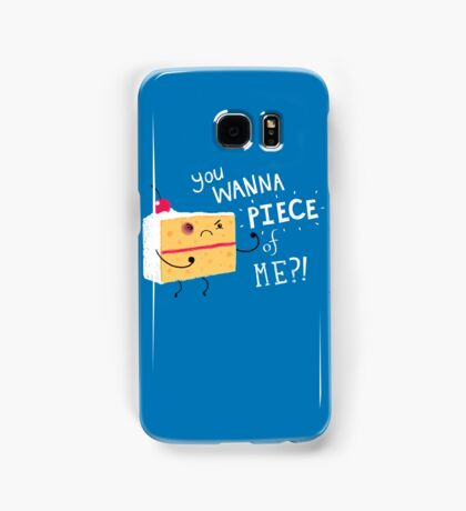 Angry Cake Samsung Galaxy Case/Skin