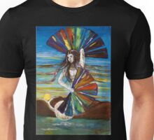 Rainbow Goddess after the Rain Unisex T-Shirt