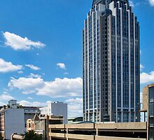 RSA Tower - Downtown Mobile, Alabama by Leroy Dickson