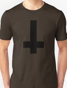 Cool Inverted cross. Atheist T-Shirt