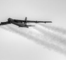 USAF B-52 by Peter Whitworth