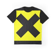Warning toxic hazard cross Graphic T-Shirt