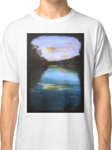 The peaceful river - black swan series #1 Classic T-Shirt