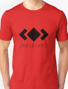 MADEON ADVENTURE LOGO BLACK Unisex T-Shirt