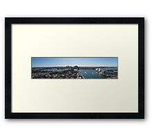 Sydney Harbour - Panorama Framed Print