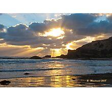Sunrise at Sorrento Photographic Print