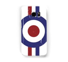 Weathered Target and stripes Samsung Galaxy Case/Skin