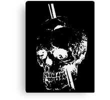 The Skull of Phineas Gage (White) Canvas Print