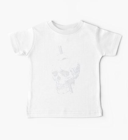 The Skull of Phineas Gage (White) Baby Tee