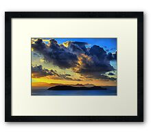 Storm Clouds over the Whitsundays Framed Print