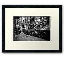 Melbourne streetart 1 Framed Print
