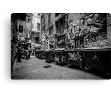 Melbourne streetart 1 Canvas Print