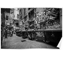 Melbourne streetart 1 Poster
