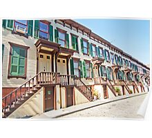 Sylvan Terrace, New York City Poster