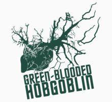 Green Blooded Hobgoblin Kids Tee