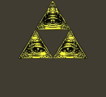 All Seeing Tri-Force Unisex T-Shirt