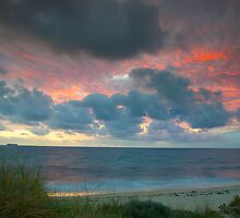 Cottesloe Beach Sunset, Western Australia by Michael Hyndman