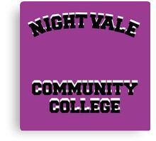 Welcome To Night Vale - Night Vale Community College Design Canvas Print