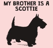 My Brother Is A Scottie Kids Tee