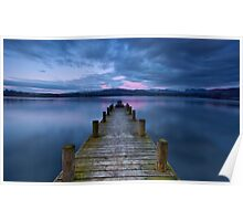 Windermere Twilight  Poster