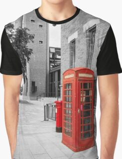 Red Telephone & Post Box Graphic T-Shirt
