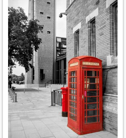 Red Telephone & Post Box Sticker