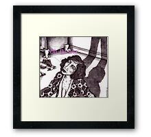 Movie Star - from the book _The Famous and Anonymous_ Framed Print