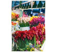 Pike Place Bouquets Poster
