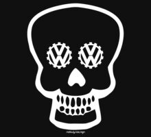 VW SKULL - WHITE by Hendrie Schipper