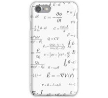 Physics - electromagnetism iPhone Case/Skin