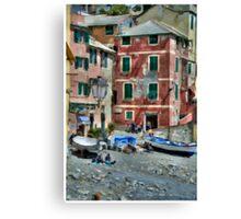 Boccadasse one Canvas Print