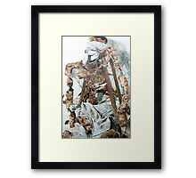 Who Will Pick Up The Wire When It's All Over Framed Print