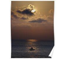 Mystical Sunset I - Misteriosa Puesta Del Sol Poster